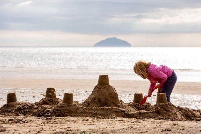 Ailsa-Craig-Kids-Sandcastle-Beach