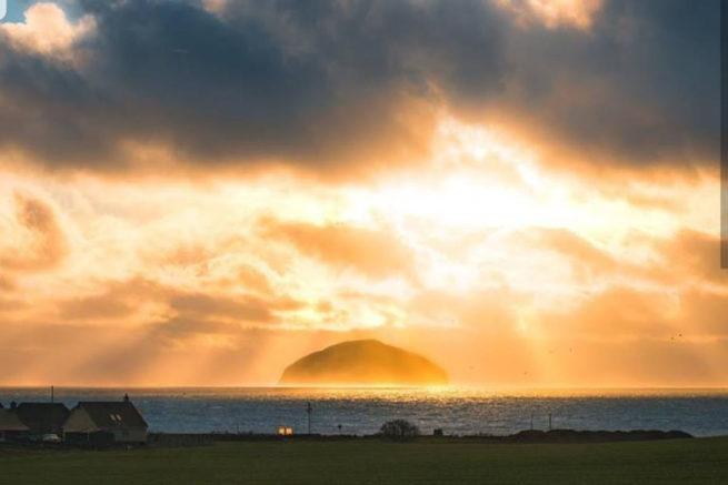 Ailsa Craig from Turnberry Holiday Park
