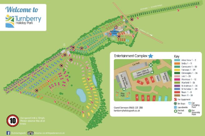Turnberry Map